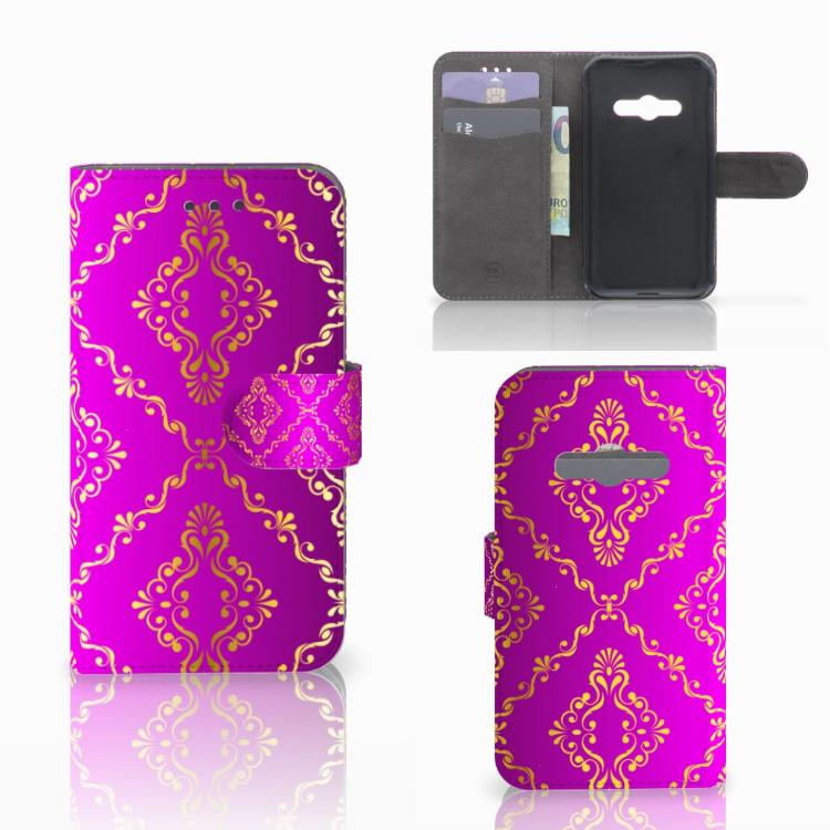 Wallet Case Samsung Galaxy Xcover 3 | Xcover 3 VE Barok Roze