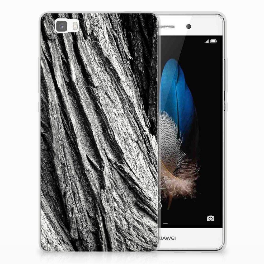 Bumper Hoesje Huawei Ascend P8 Lite Boomschors Grijs