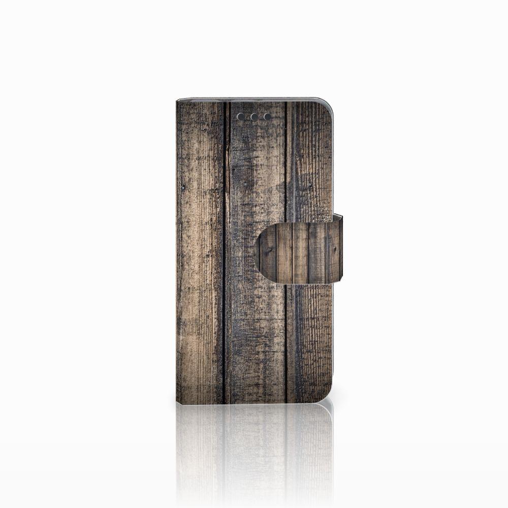 Sony Xperia Z3 Compact Boekhoesje Design Steigerhout