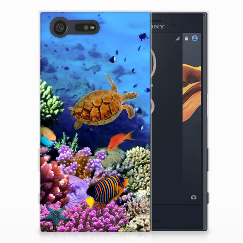Sony Xperia X Compact TPU Hoesje Design Vissen