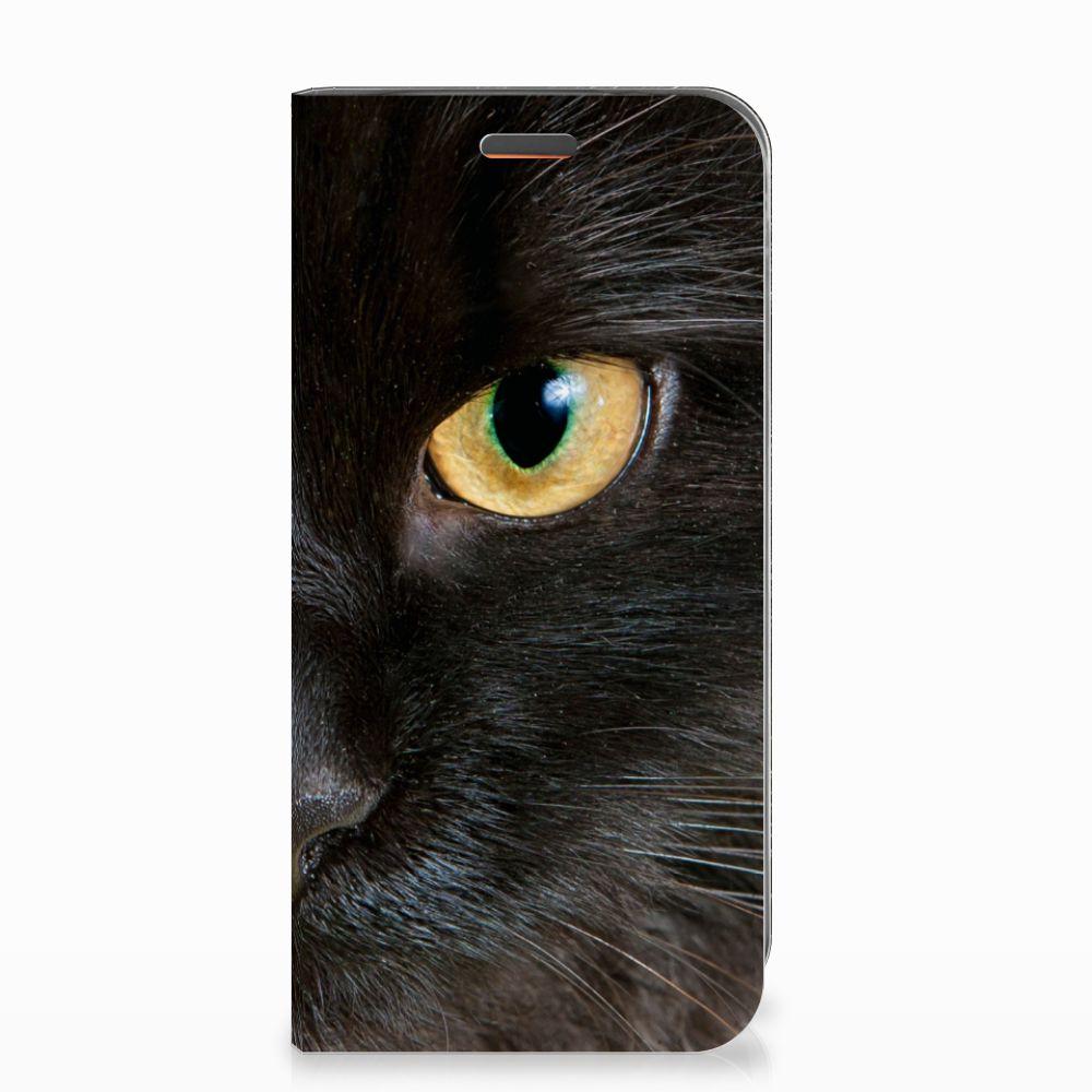 Motorola Moto E5 Play Hoesje maken Zwarte Kat