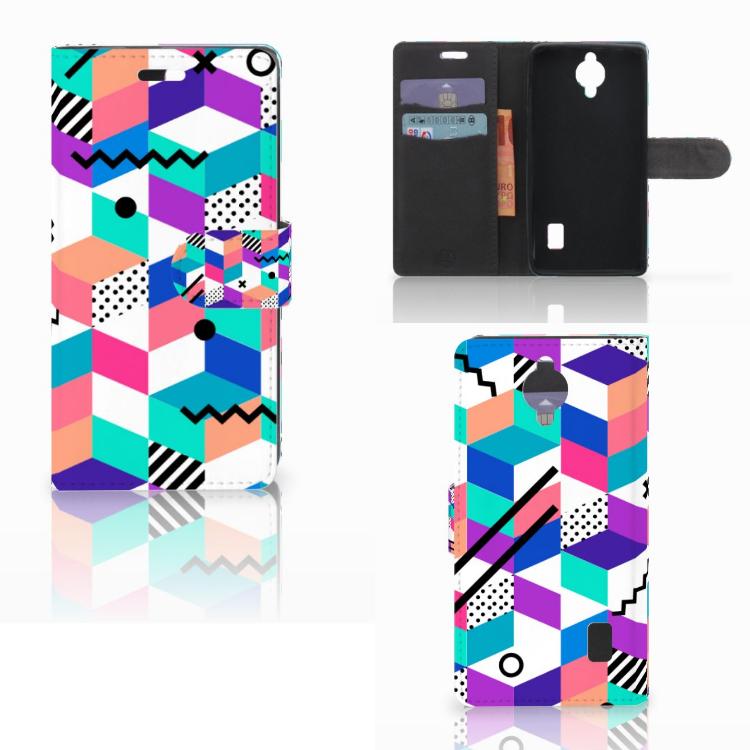 Huawei Y635 Bookcase Blokken Kleurrijk
