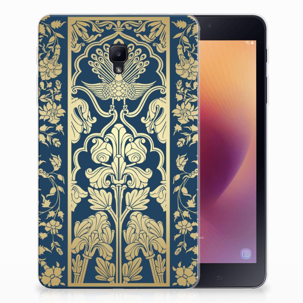 Samsung Galaxy Tab A 8.0 (2017) Uniek Tablethoesje Golden Flowers