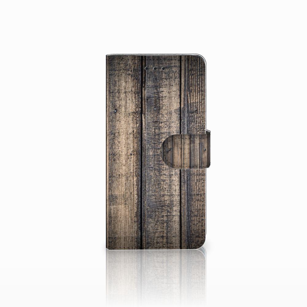 Huawei Y5 2018 Boekhoesje Design Steigerhout