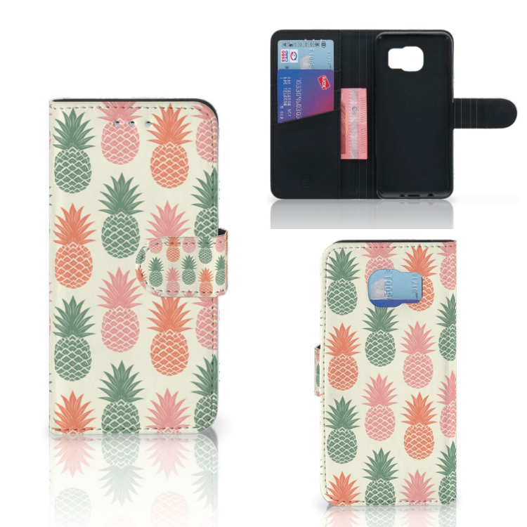Samsung Galaxy S6 | S6 Duos Book Cover Ananas