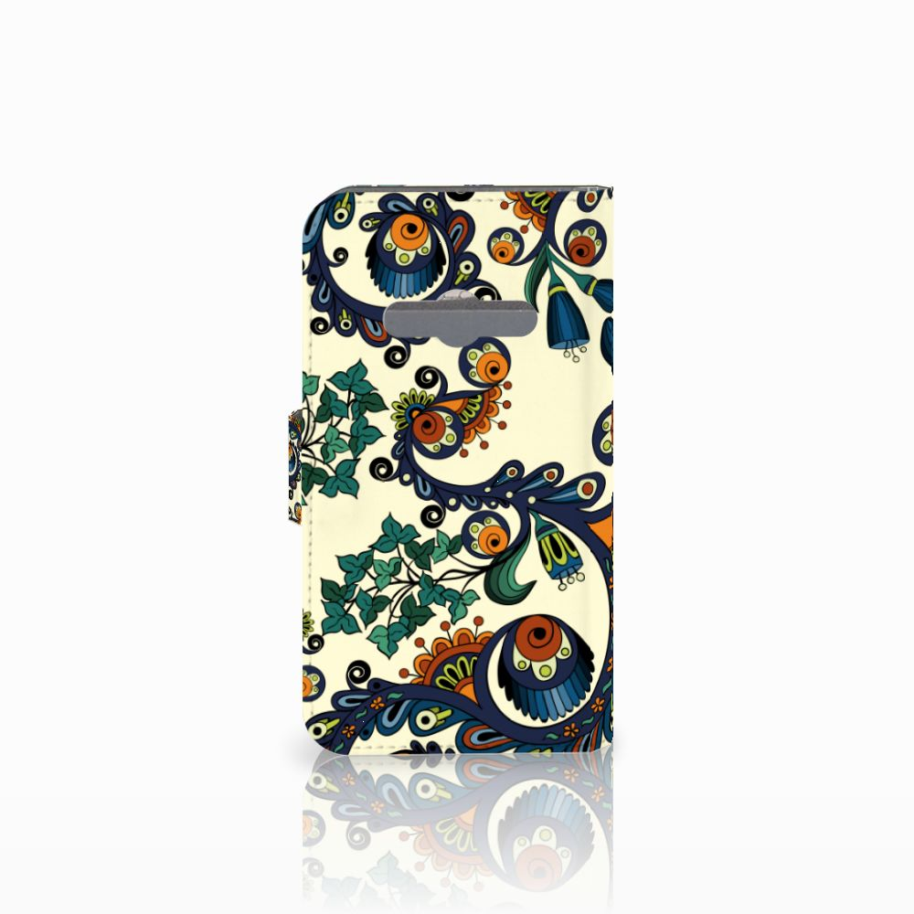 Wallet Case Samsung Galaxy Xcover 3   Xcover 3 VE Barok Flower