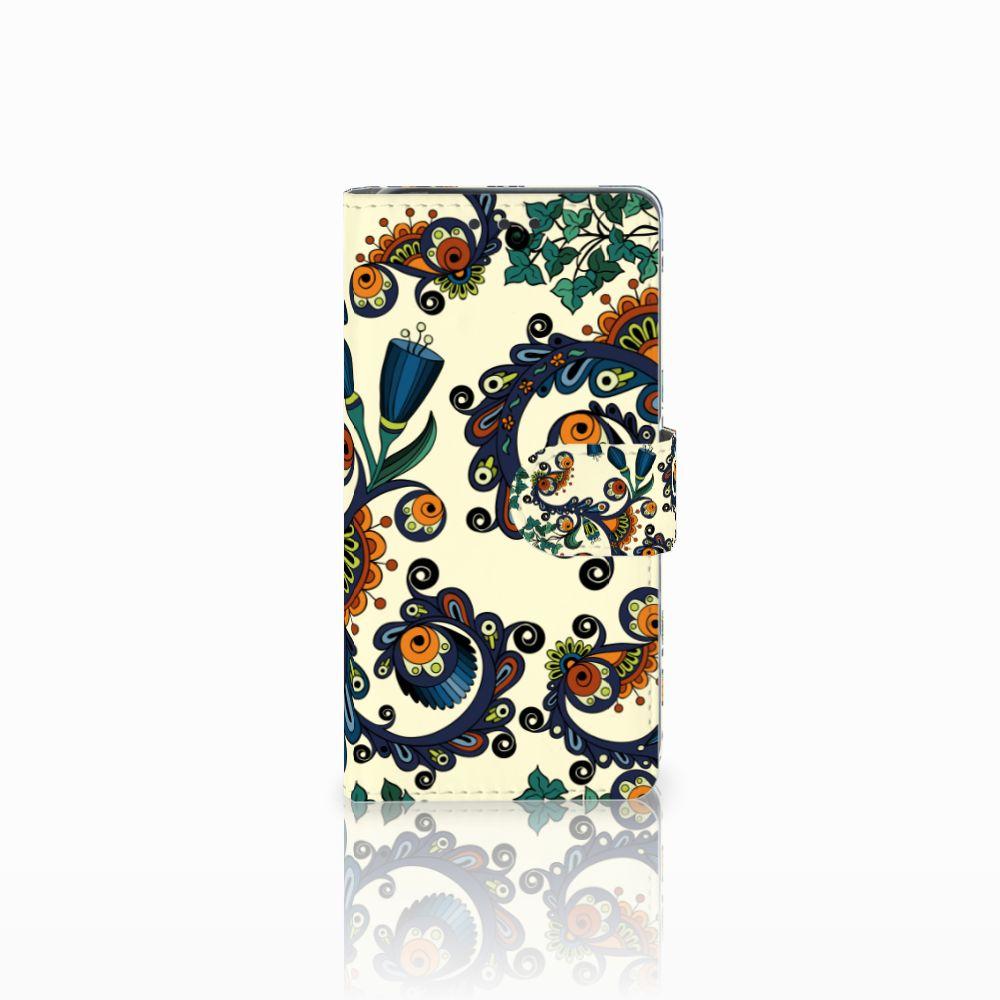 Sony Xperia X Boekhoesje Design Barok Flower