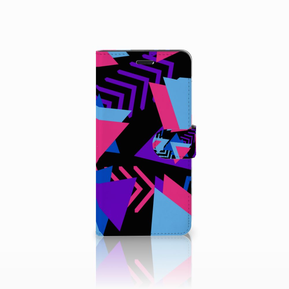 Wiko Pulp Fab 4G Bookcase Funky Triangle