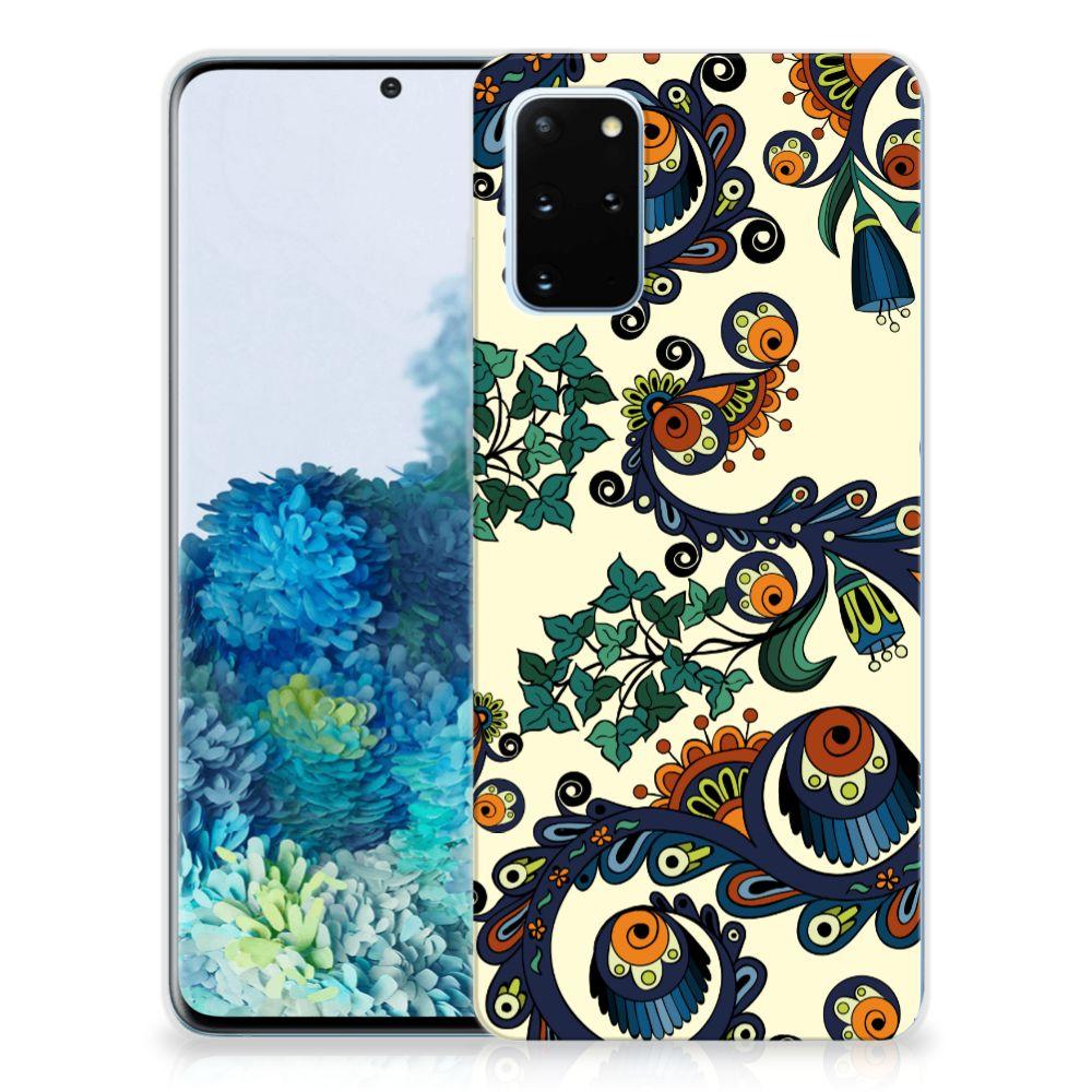 Siliconen Hoesje Samsung Galaxy S20 Plus Barok Flower