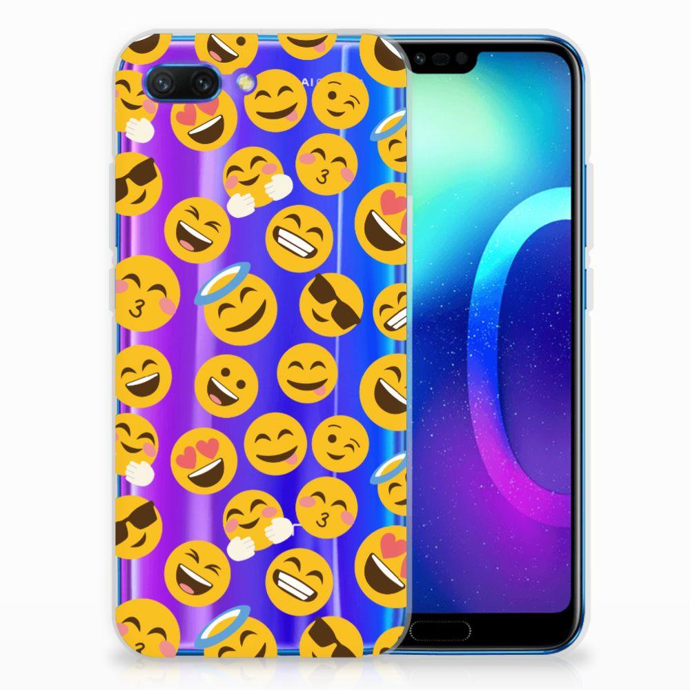Huawei Honor 10 TPU Hoesje Design Emoji