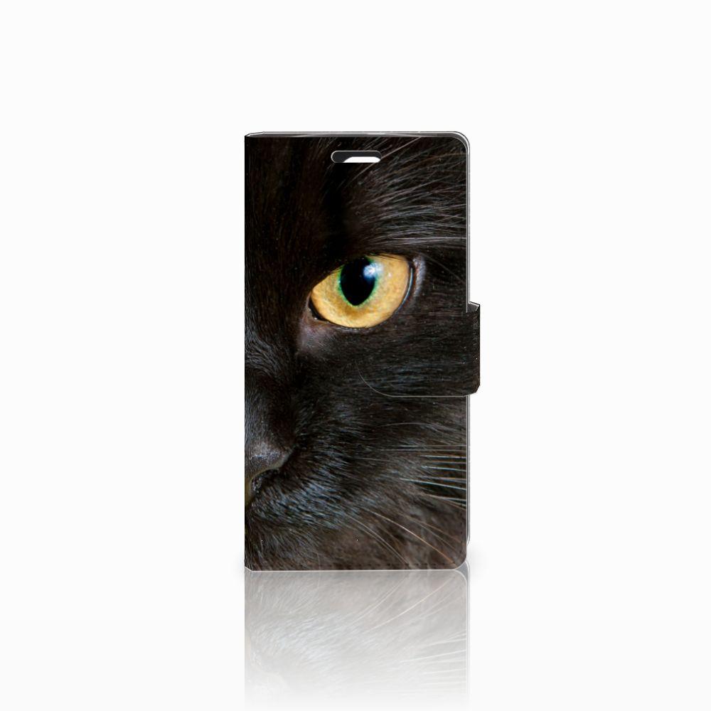 LG Spirit Uniek Boekhoesje Zwarte Kat