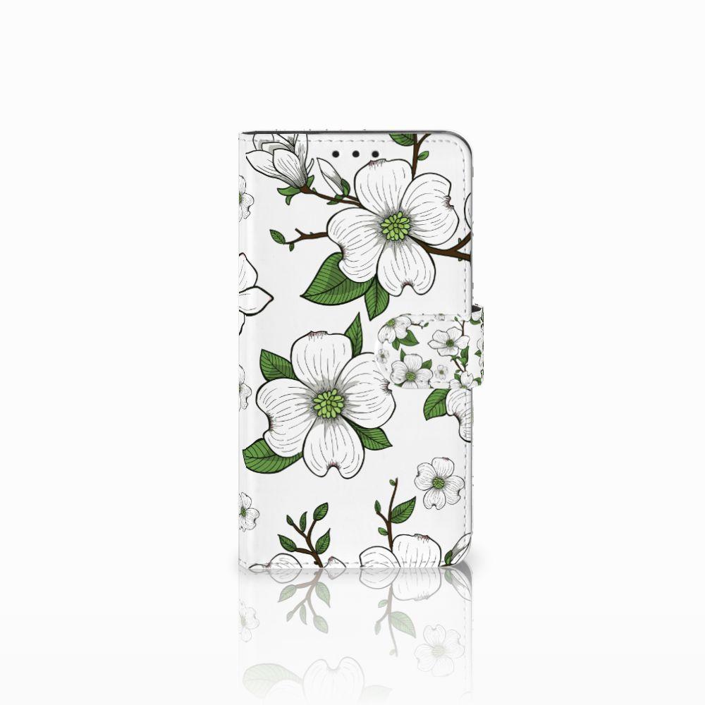 Huawei Honor 6X Boekhoesje Design Dogwood Flowers