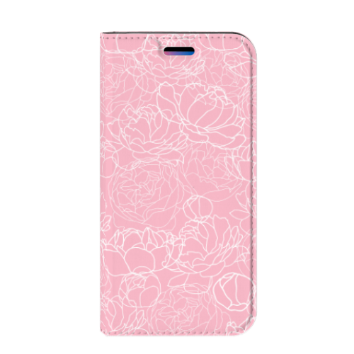 Apple iPhone X   Xs Smart Cover White Flowers