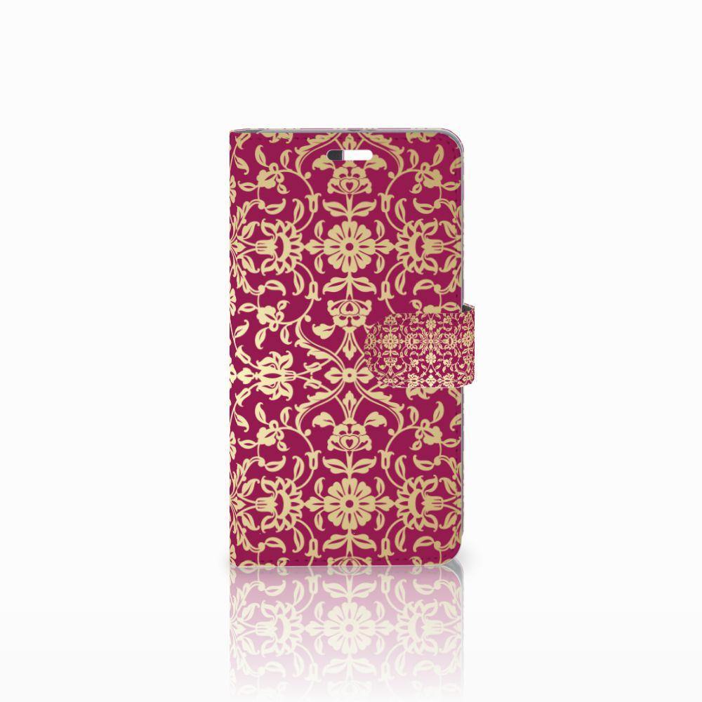 Wallet Case Huawei P9 Plus Barok Pink