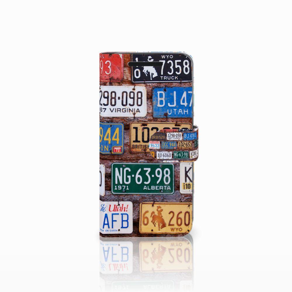 HTC One M9 Telefoonhoesje met foto Kentekenplaten