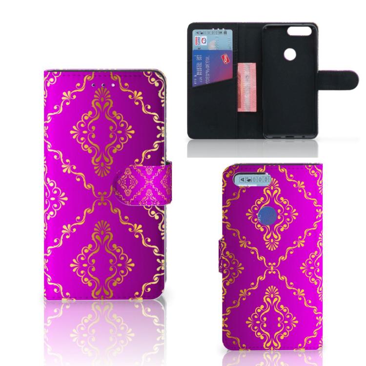 Wallet Case OnePlus 5T Barok Roze