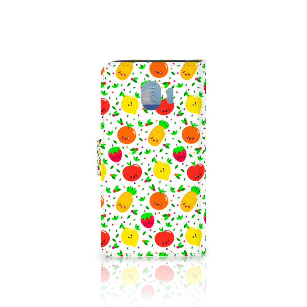 Samsung Galaxy J4 2018 Book Cover Fruits