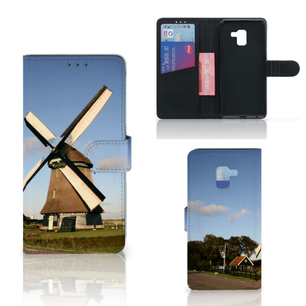 Samsung Galaxy A8 Plus (2018) Flip Cover Molen