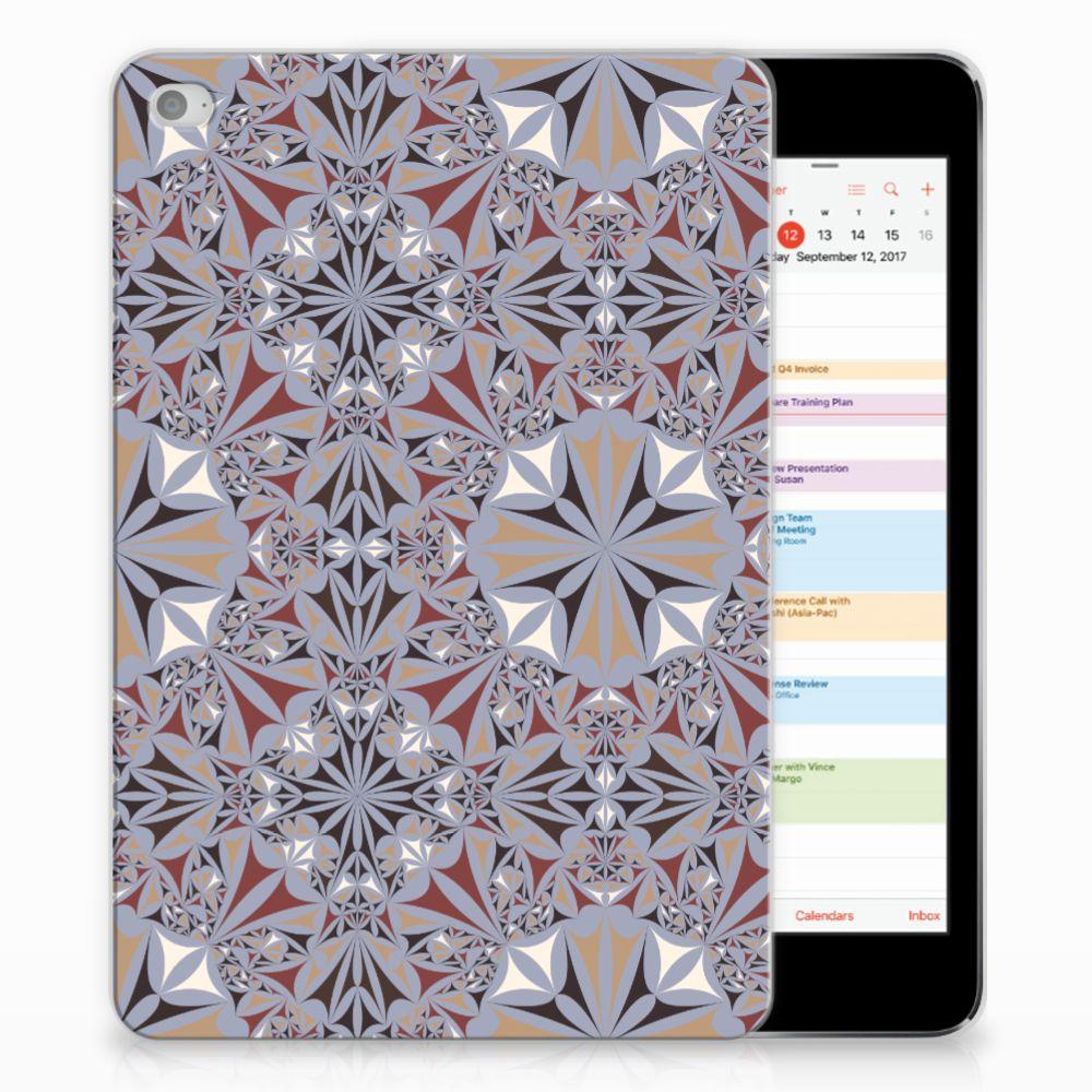 Apple iPad Mini 4 | Mini 5 (2019) Tablet Back Cover Flower Tiles