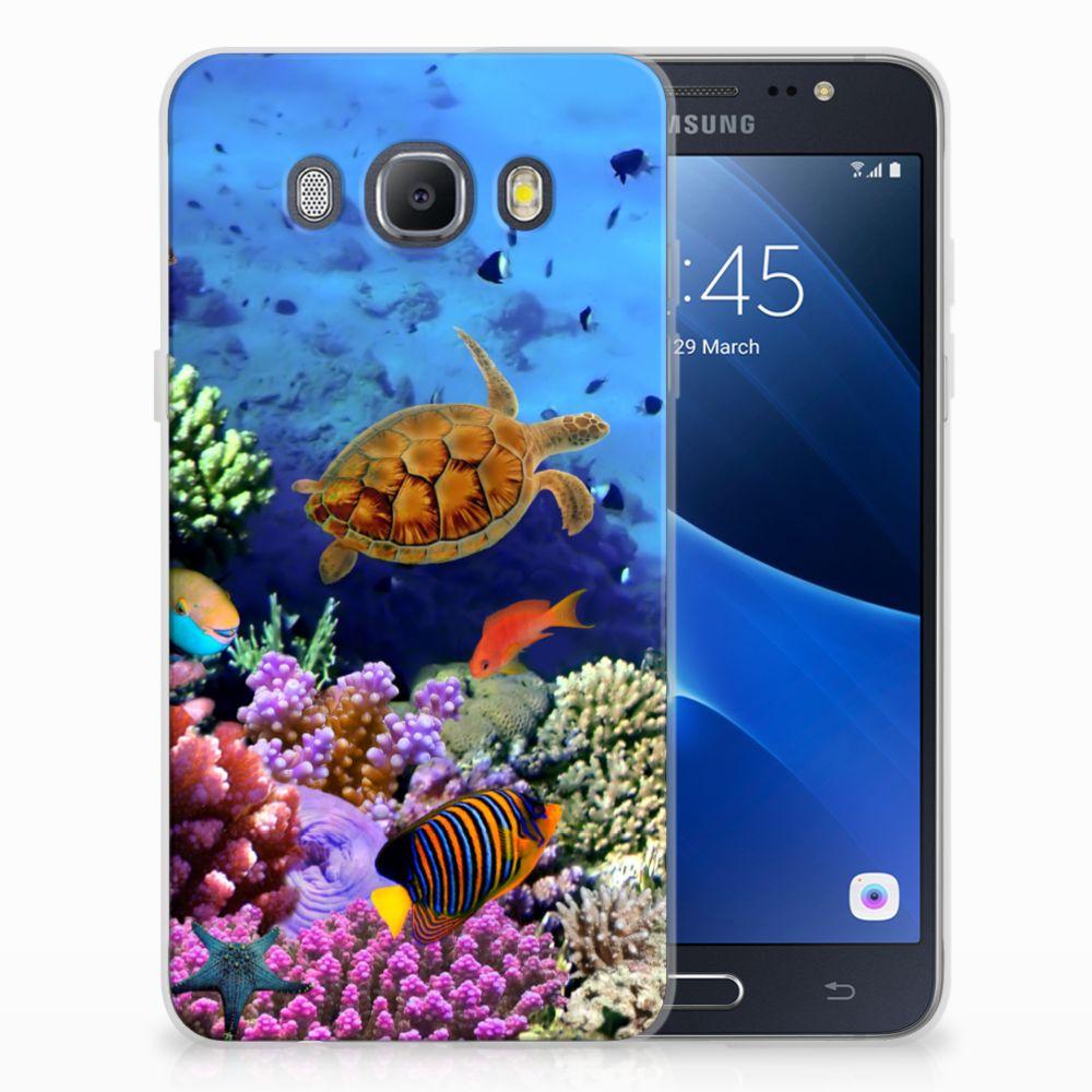 Samsung Galaxy J5 2016 TPU Hoesje Design Vissen