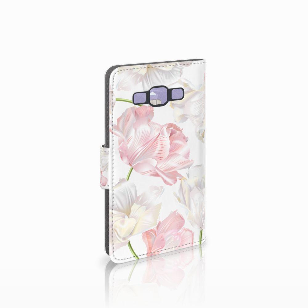 Samsung Galaxy A3 2015 Boekhoesje Design Lovely Flowers