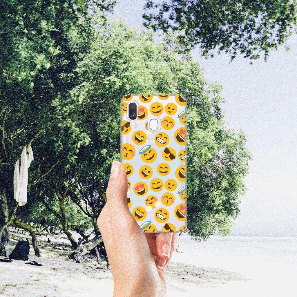Samsung Galaxy A40 TPU bumper Emoji