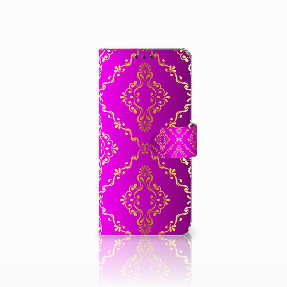 Sony Xperia Z5 Premium Uniek Boekhoesje Barok Roze