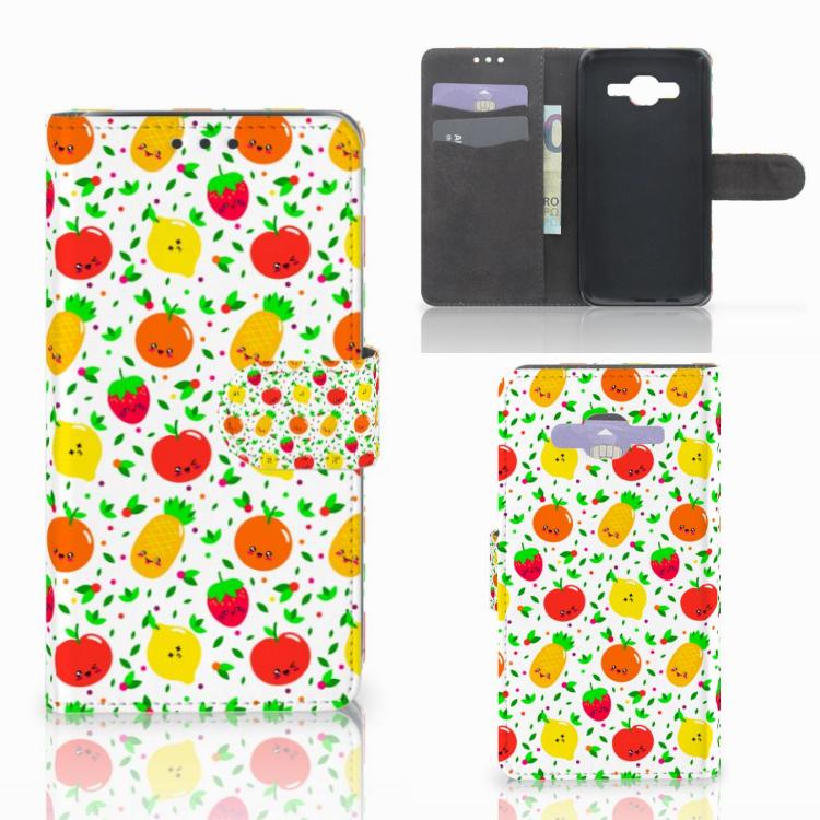 Samsung Galaxy J5 (2015) Book Cover Fruits