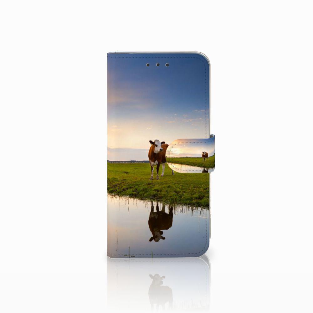 Motorola Moto G6 Play Boekhoesje Design Koe