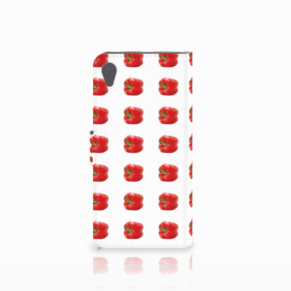 Sony Xperia Z5 Premium Book Cover Paprika Red