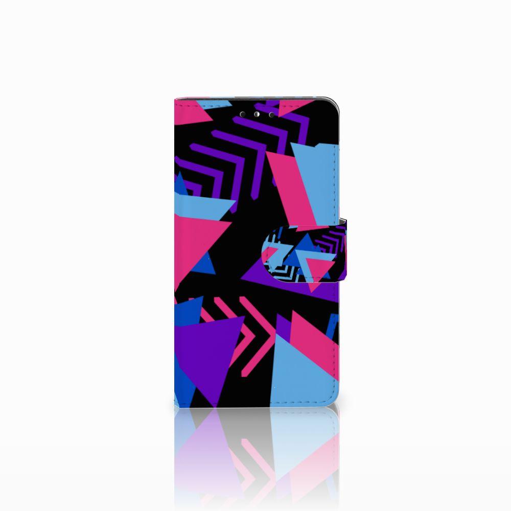 Huawei Y5 | Y6 2017 Boekhoesje Design Funky Triangle