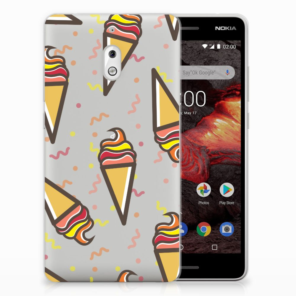 Nokia 2.1 (2018) Siliconen Case Icecream