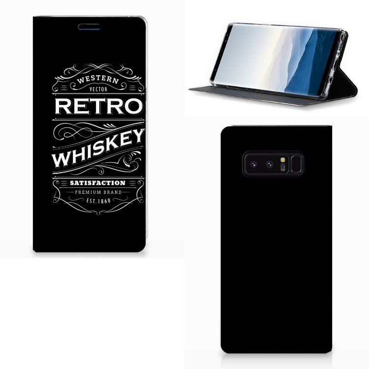 Samsung Galaxy Note 8 Flip Style Cover Whiskey