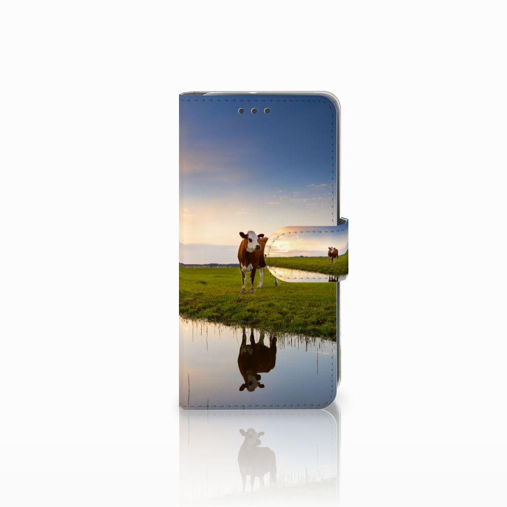HTC U11 Life Boekhoesje Design Koe