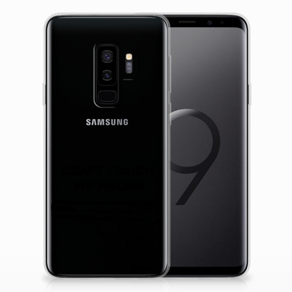 Samsung Galaxy S9 Plus Silicone-hoesje Pistol DTMP