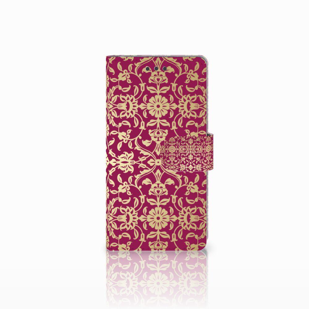 Sony Xperia E5 Boekhoesje Design Barok Pink