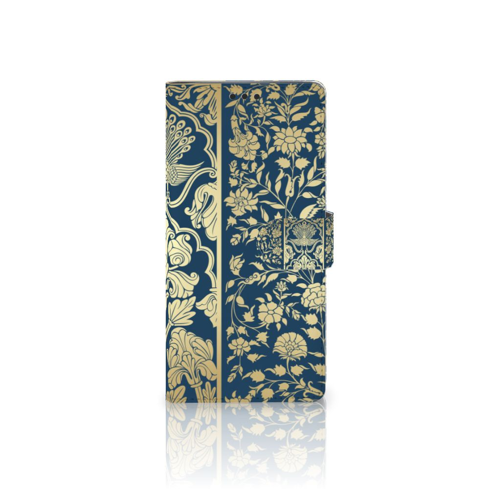 Sony Xperia XA Ultra Hoesje Golden Flowers