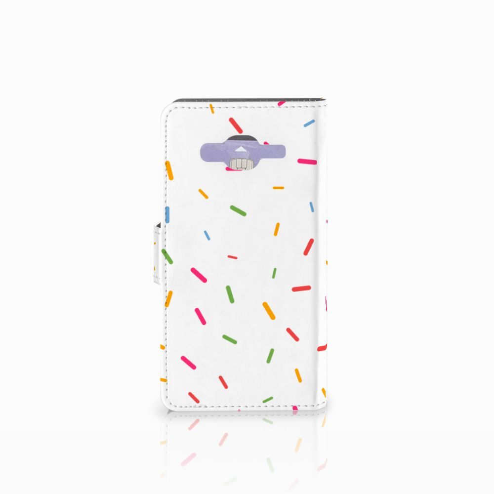 Samsung Galaxy J5 (2015) Book Cover Donut Roze