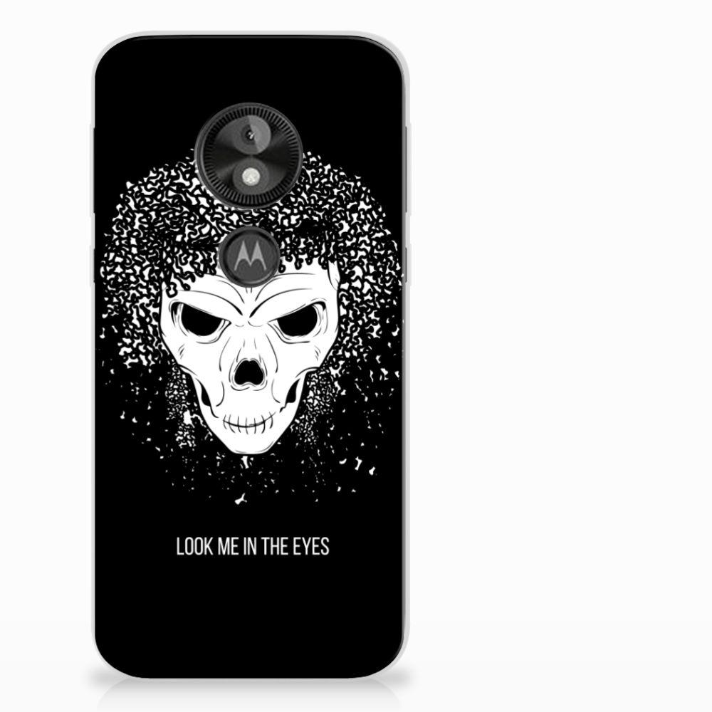 Motorola Moto E5 Play Uniek TPU Hoesje Skull Hair