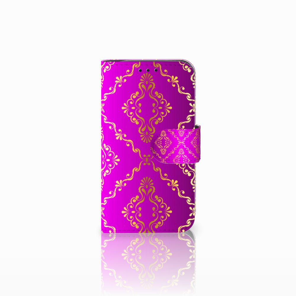 LG L90 Uniek Boekhoesje Barok Roze