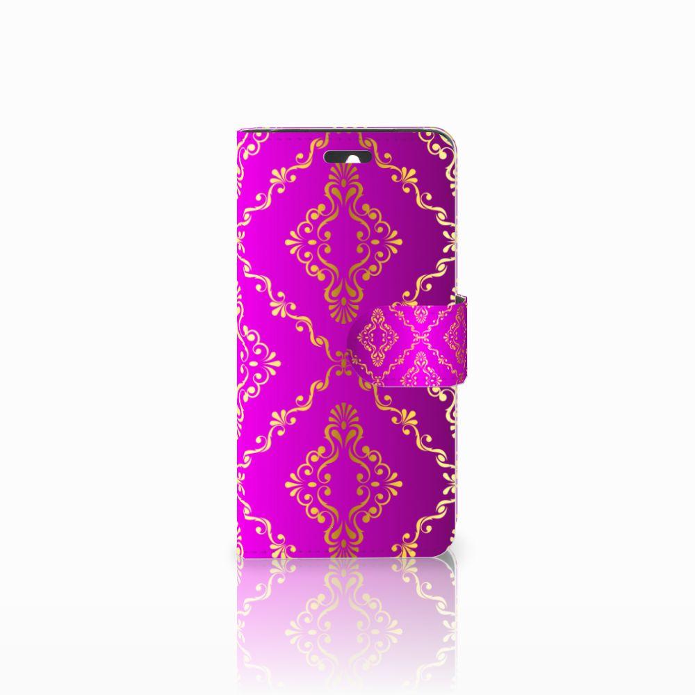 Huawei Ascend Y550 Uniek Boekhoesje Barok Roze